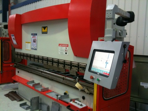 Controller Fitted to Press Brake